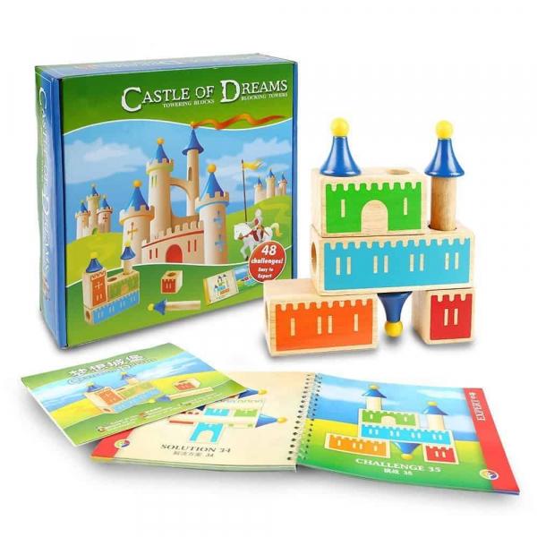 Joc Logica Constructie Castel 3D 1