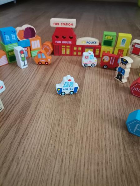 Cuburi din Lemn de Construit Animale 120 piese - Blocuri din Lemn de Constructie 120 piese 12