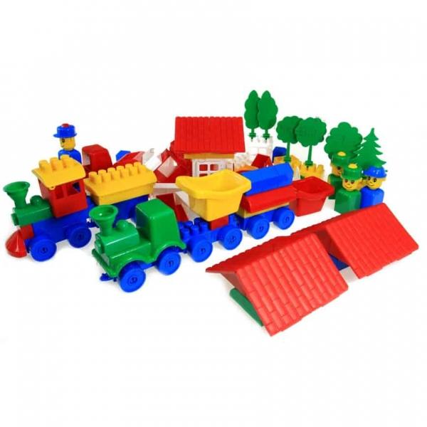Cuburi Constructie  TIP Lego K2 Super max 350 piese 3