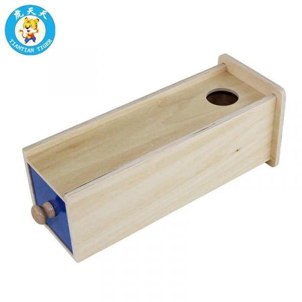 Joc Lemn Montessori Cutia Permanentei cu sertar. 3