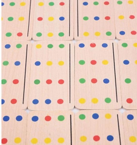 Joc Lemn Asociere Color Match 2