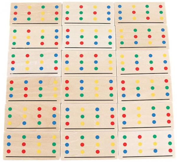 Joc Lemn Asociere Color Match 7