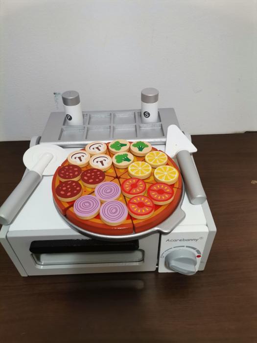 Cuptor de Pizza din Lemn cu Accesorii [16]
