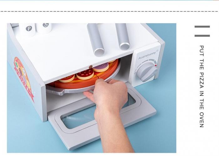 Cuptor de Pizza din Lemn cu Accesorii [5]
