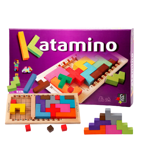 Joc Lemn Tetris - Katamino 0