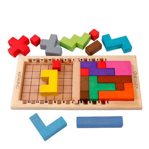 Joc Lemn Tetris - Katamino 1