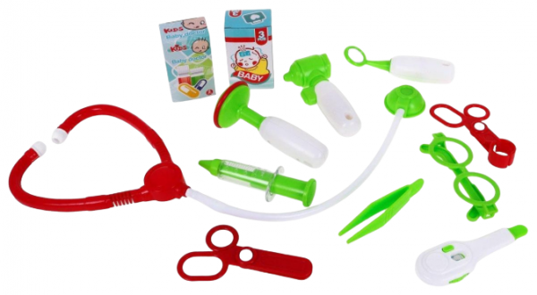 Set Trusa  doctor 3 in 1 troler Little Doctor 3