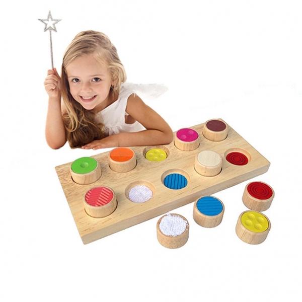 Joc din lemn memorie pentru copii Memory 4