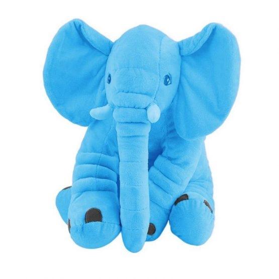 Jucarie plus si pernuta bebe elefant cu paturica 2