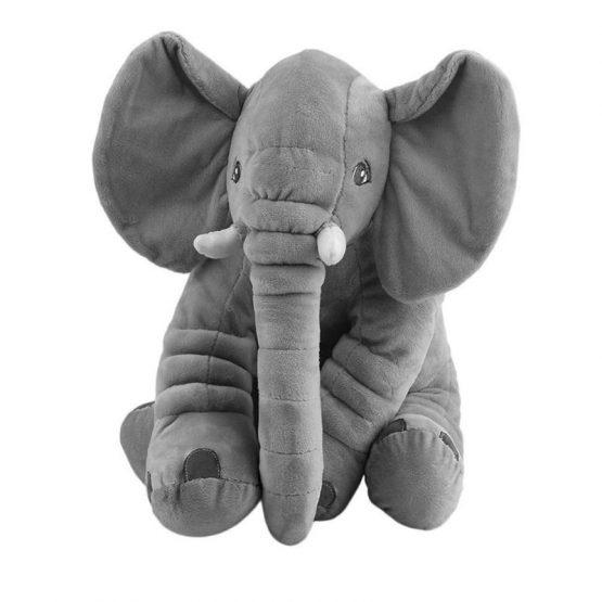 Jucarie plus si pernuta bebe elefant cu paturica 3