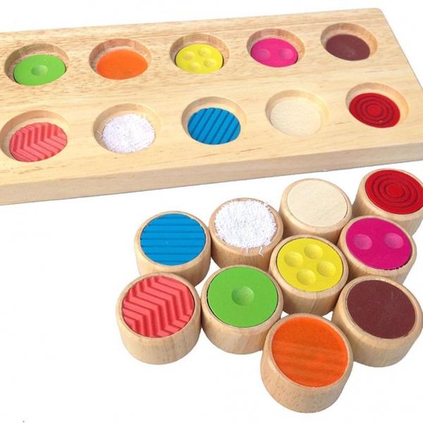 Joc din lemn memorie pentru copii Memory 3