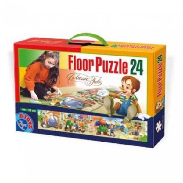 Puzzle Mare de Podea Puzzle Basme Clasice 0