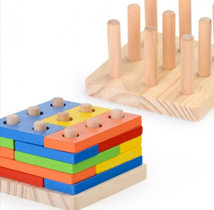 Forme geometrice colane sortare Tetris [0]