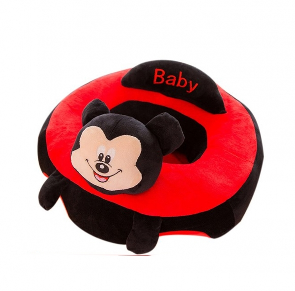 Fotoliu bebe Sit up  din plus Mickey Mouse  Minnie Mouse Mare 0
