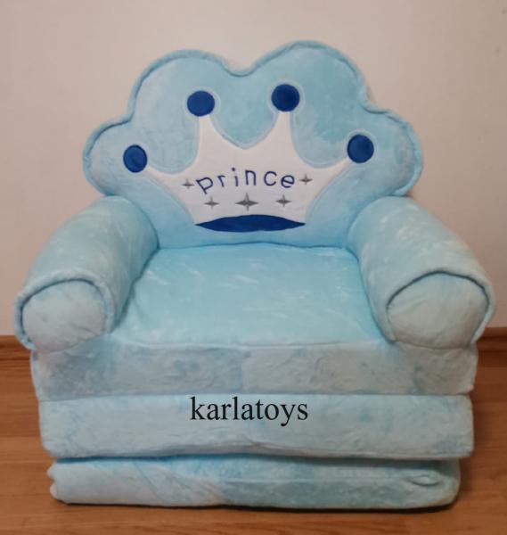 Fotoliu din plus extensibil Princess - Prince 115 cm 8