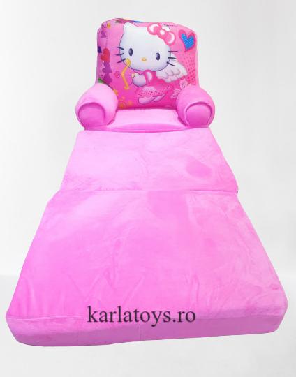 Fotoliu extensibil Hello Kittydin plus pentru copii [1]