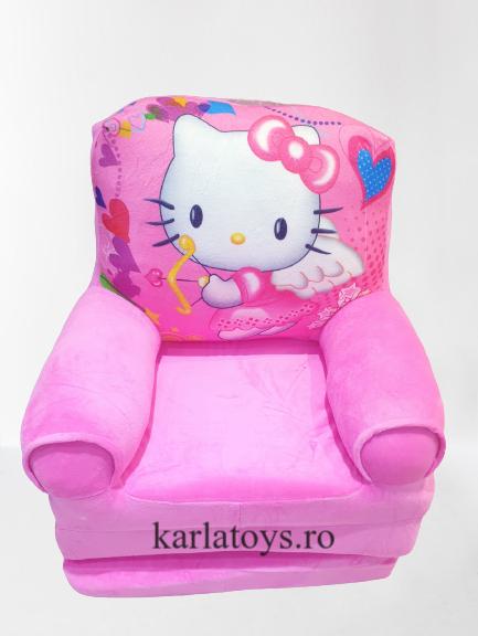 Fotoliu extensibil Hello Kittydin plus pentru copii [0]