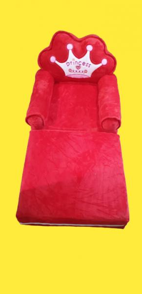 Fotoliu extensibil de plus Princess Rosu 100 cm 0