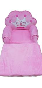 Fotoliu extensibil Princess Roz de plus pentru copii [0]