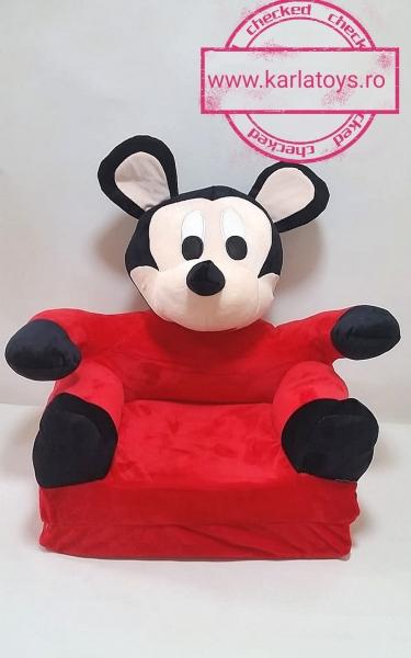 Fotoliu Extensibil MickeyMouse din plus 3D 80 cm 1