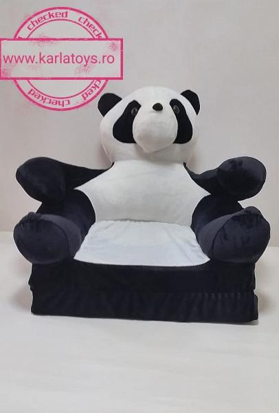Fotoliu Extensibil Usuletu Panda din plus 3D 1