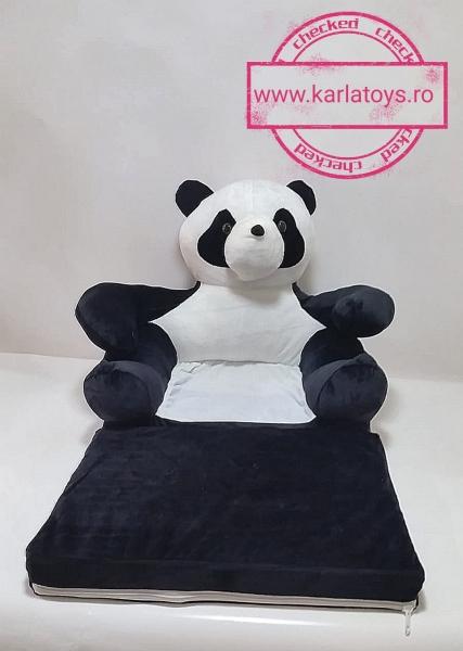 Fotoliu Extensibil Usuletu Panda din plus 3D 0