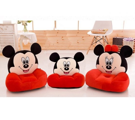 Fotoliu din plus Minnie Mouse /Mickey Mouse Mare sit down 0