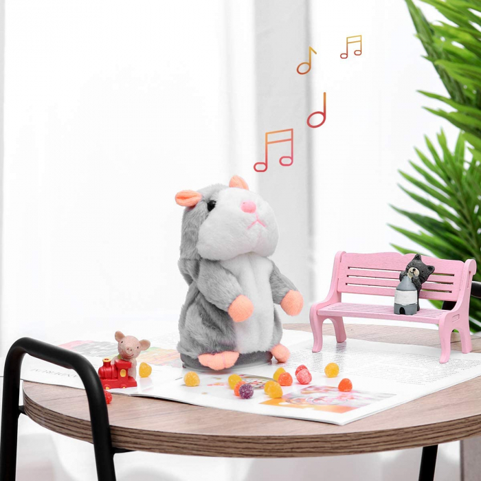 Hamsterul Vorbitor Jucarie interactiva de plus 2