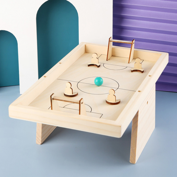 Masa de Fotbal din lemn Joc interactiv copii 2