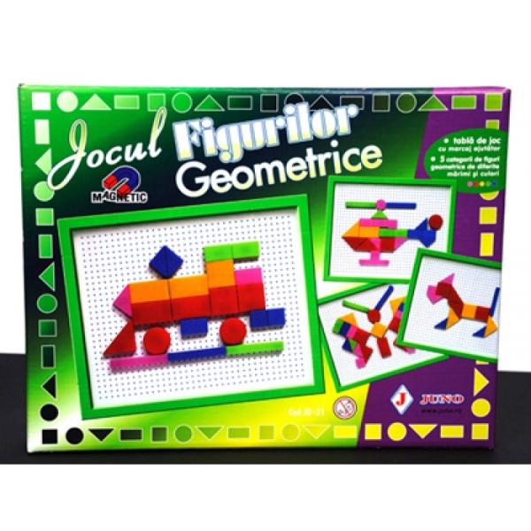 Jocul figurilor geometrice  magnetic 1