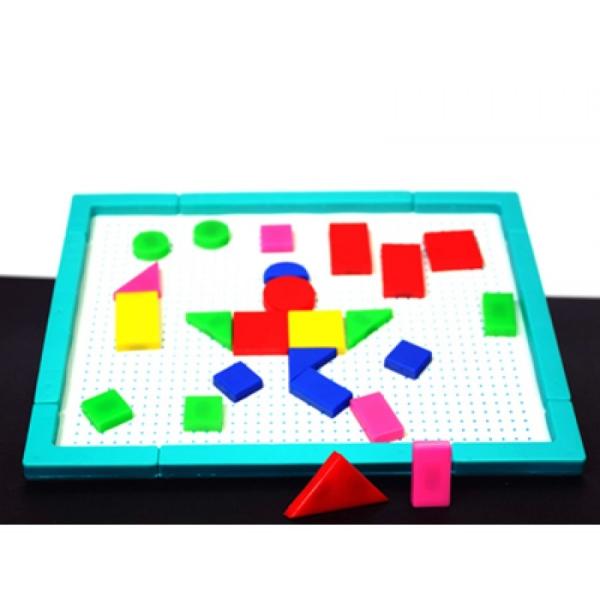 Jocul figurilor geometrice  magnetic 0