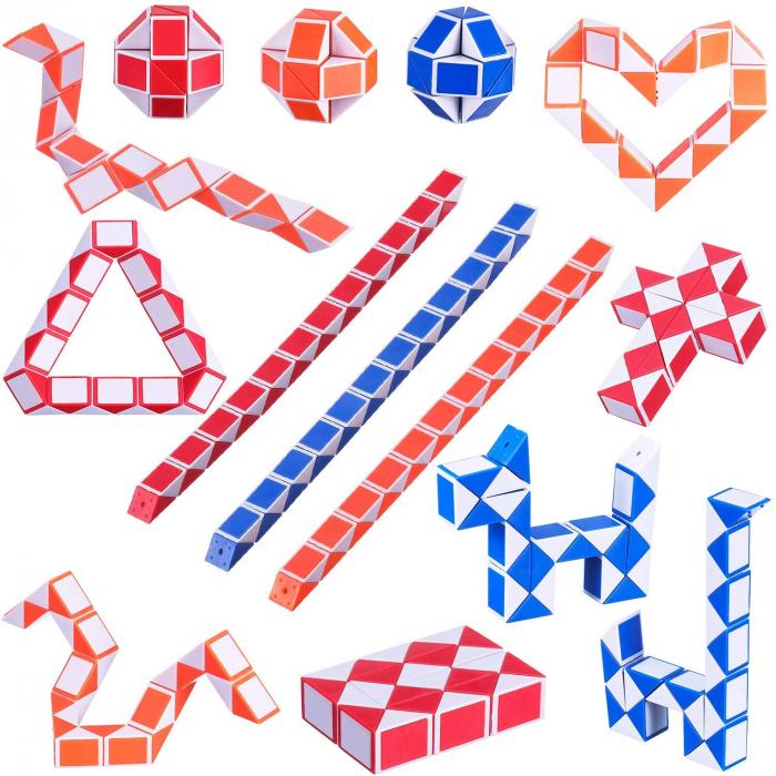Joc Creativ Snake Magic Cube - Sarpe Rubik 1