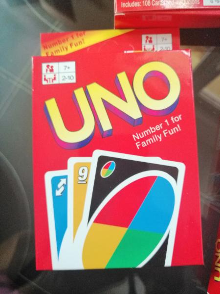 Joc de Carti UNO - Joc de Societate cu carti UNO 1