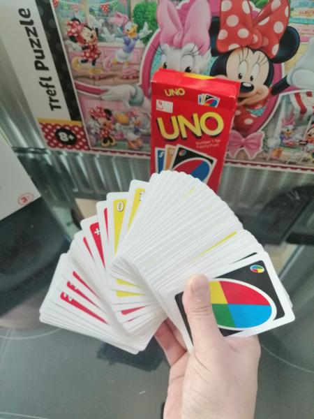 Joc de Carti UNO - Joc de Societate cu carti UNO 4