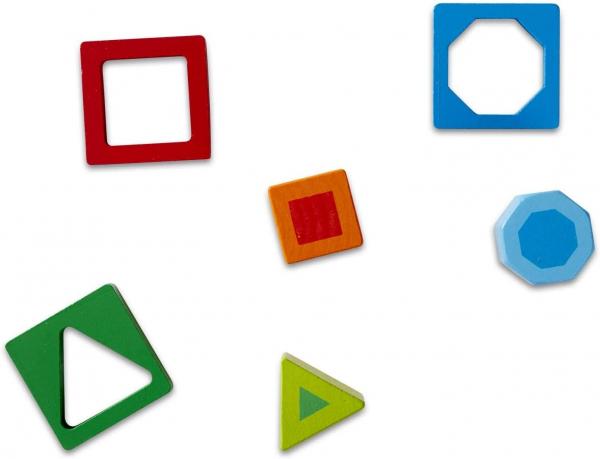Joc de Lemn Incastru Forme Geometrice Melissa and Doug. 3