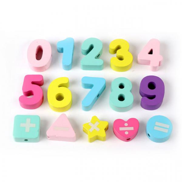 Joc din Lemn Montessori Sortator Culori 4 in 1 - Joc de Pescuit,Cifre, Forme geometrice 10