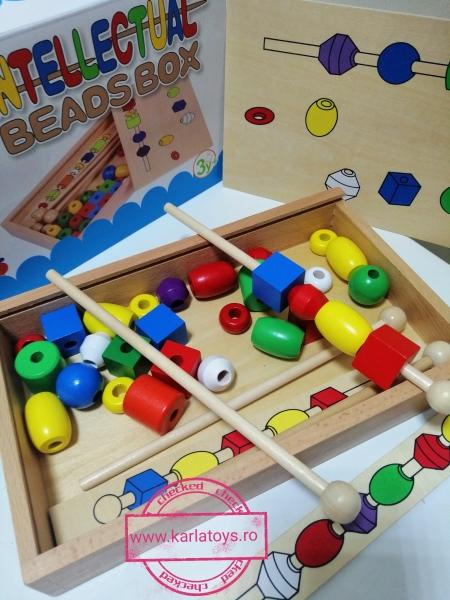 Joc din lemn Potriveste Intellectual Box 1