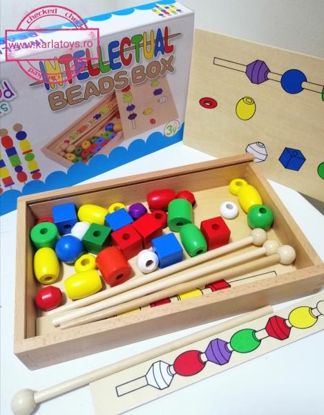 Joc din lemn Potriveste Intellectual Box 3