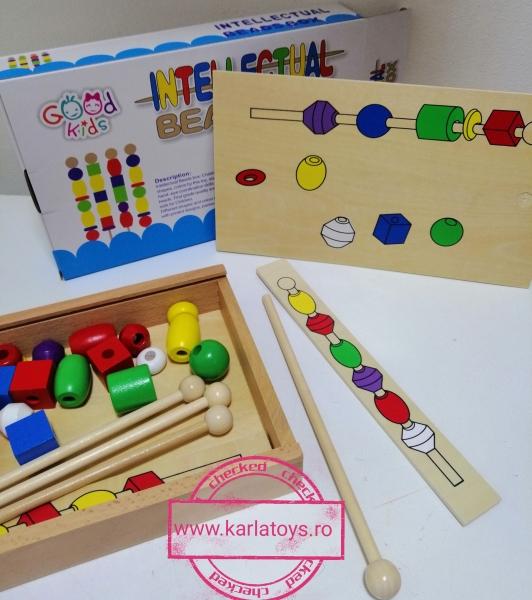 Joc din lemn Potriveste Intellectual Box 5