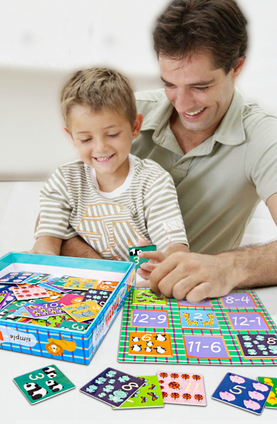 Joc educativ matematica Bingo simplu 1