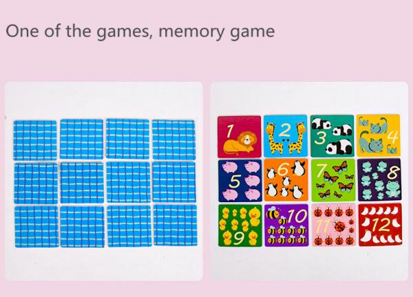 Joc educativ matematica Bingo simplu 4