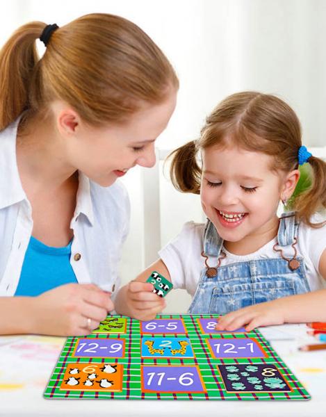 Joc educativ matematica Bingo simplu 5