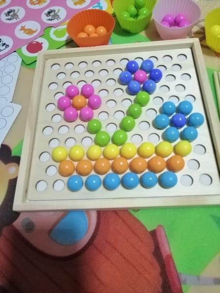 Joc indemnare si memorie 2 in 1 cu bile [12]
