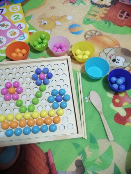 Joc indemnare si memorie 2 in 1 cu bile [9]