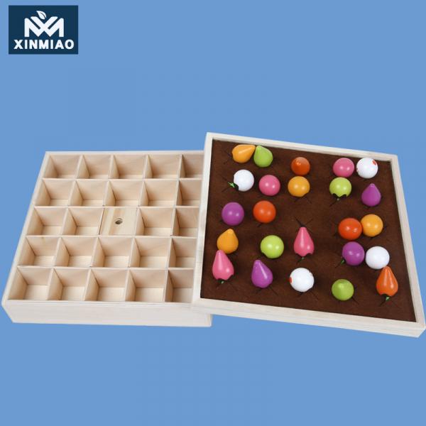 Joc lemn Memorie Gradina cu Legume - Joc Montessori din Lemn Gradina cu Legume 13
