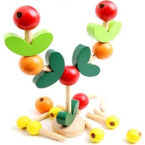 Joc lemn echilibru copacul intelepciuni 3D 0