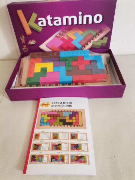 Joc Lemn Tetris - Katamino [1]
