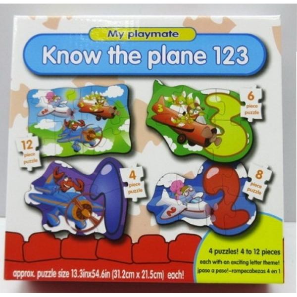 Joc Puzzle 4 in 1 Primul Meu Puzzle 0