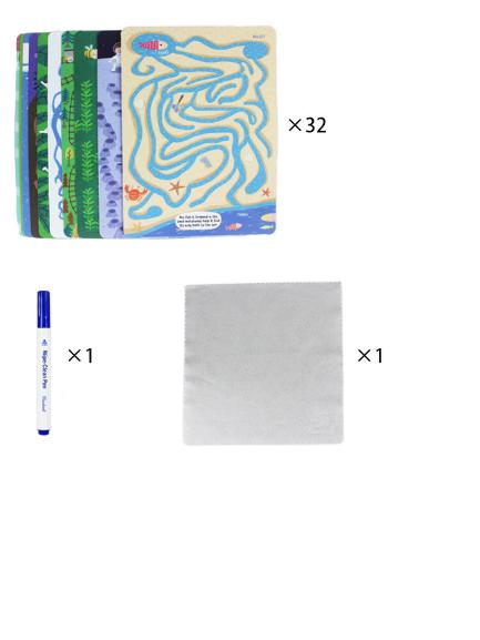 Joc Scrie si Sterge Labirint Pinwheel Wipable [3]