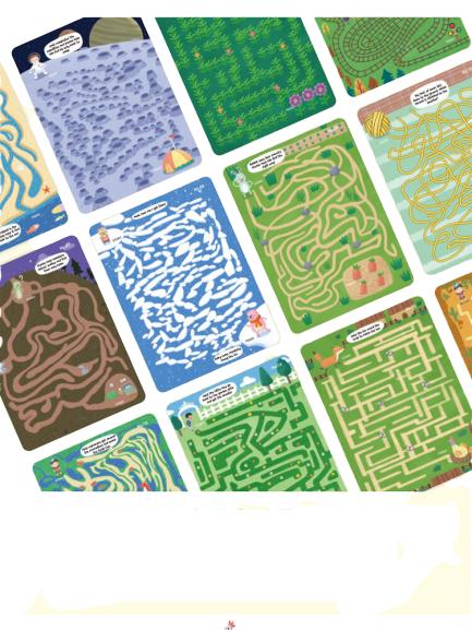Joc Scrie si Sterge Labirint Pinwheel Wipable [2]